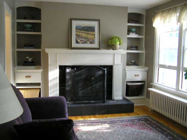 Home staging example - First Impressions